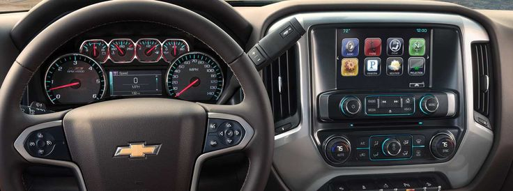 2016 Silverado 1500 Technology design. Chevrolet Cadillac of Santa Fe: www.chevroletofsantafe.com.
