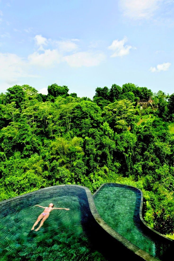 Travel inspiration bycocoon.com | COCOON explores | places in the world | dreams | wanderlust | travelling | Dutch Designer Brand COCOON || Hanging Gardens, Ubud , Bali, Indonesia