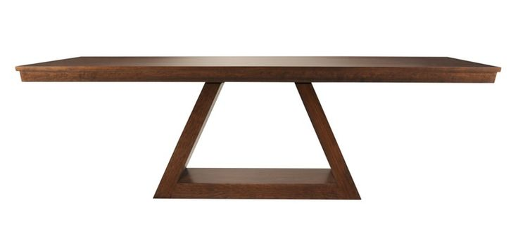 The Avenue Table Available In Multiple Sizes  MidCentury  Modern, Wood, Dining Room Table by Woodcraft