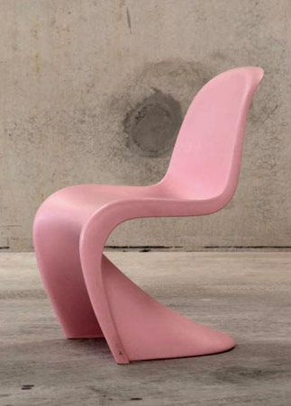 Pink S Chair Verner Panton Mid Century Modern Pinterest And Design