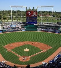 Kauffman Stadium, Kansas City, KS: Royals Kauffman Stadiums, Baseball Stadiums, Stadiums Club, Cities Royalskauffman, Kansas Cities Royals, Kansas City Royals, Royals Games, Cities Royals Kauffman, Kid