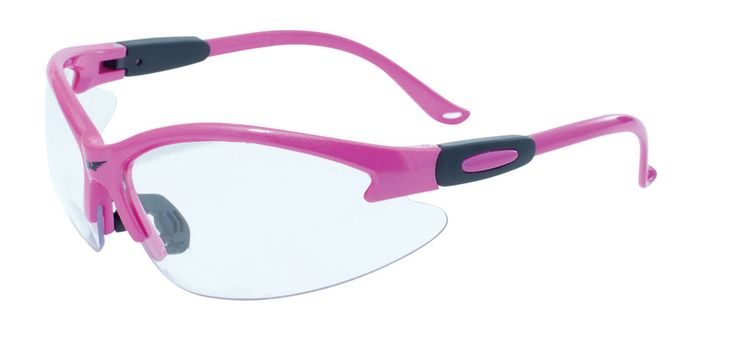 12 pink cougar safety glasses clear antifog lenses ansi z871 safety glasses pinterest safety glass safety and lenses