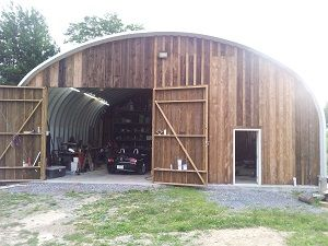 Severe Storms Are No Match for A SteelMaster Garage