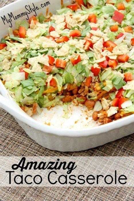 amazing taco casserole, recipe, dinner recipe, mymommystyle.com