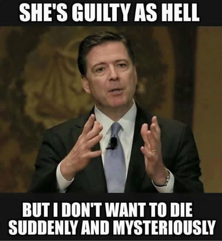 does this meme explain why the fbi is too scared to indict hillary