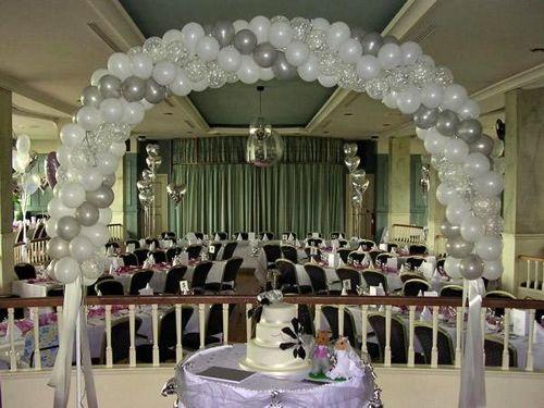 decoracion,para,bodas,con,globos
