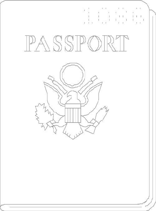 make your own passport template - 1000 images about preschool around the world theme on