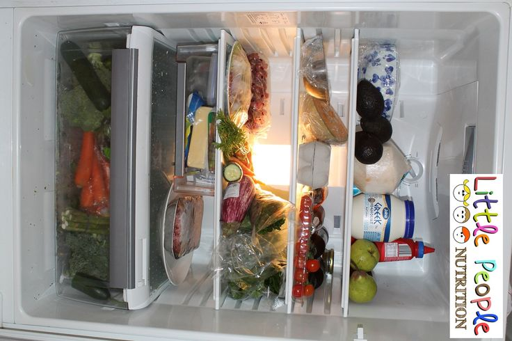 Ever wondered what is  in a nutritionist's fridge?