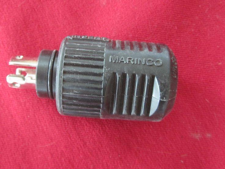 MARINCO MALE TROLLING MOTOR PLUG-12 vcp 3 TERMINALS  P# 1333098