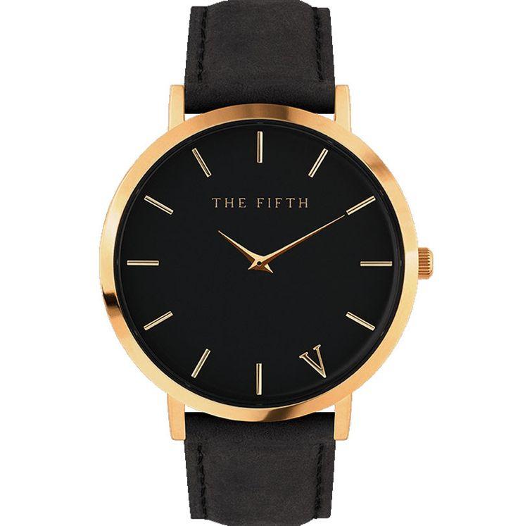 The fifth Quartz Watch Men Women Famous Brand Gold Leather Band Wrist Watches Relojes Montre Homme Erkek Kol Wristwatch