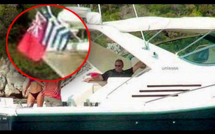 Ο Eυάγγελος Βενιζέλος σε χαιρετά από σκάφος με σημαία offshore!