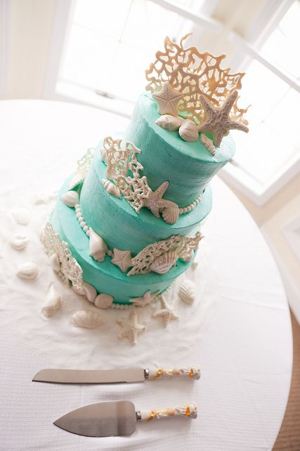 Wedding Details - Cake by alisonleighlilly, via Flickr www.tortugamusicfestival.com // #tortugafest