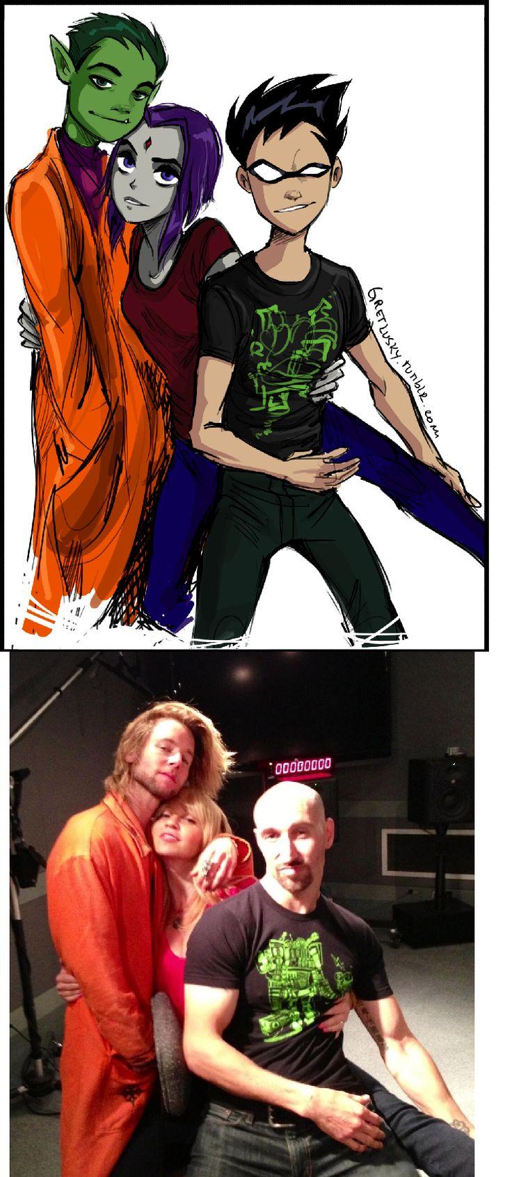 Best 25 Teen Titans Cast Ideas On Pinterest  Teen Titans -5539