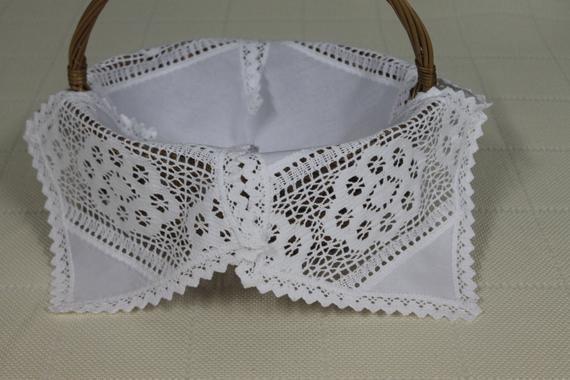 Serwetka Wielkanocna Do Koszyka Crochet Bikini Etsy Crochet Top