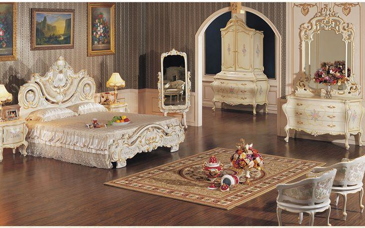 Klasik oymalı mobilyaları- Barok yaprağı yaldız Yatak odası mobilyaları-Yatak Odası Takımları-ürün Kimliği:507092495-turkish.alibaba.com turkish.alibaba.com