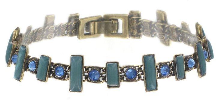bracelet Baguette Couleur blue