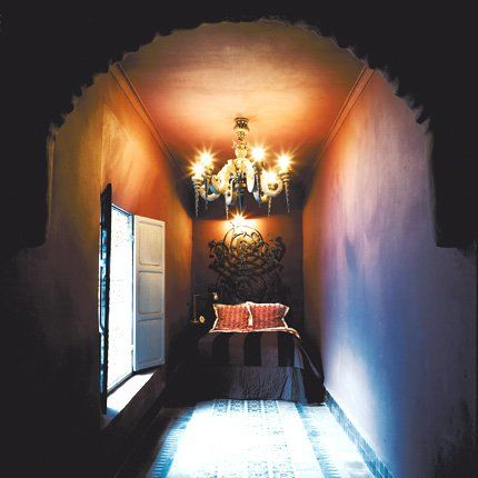 A velvety plum room - Marie Claire Maison- gothic