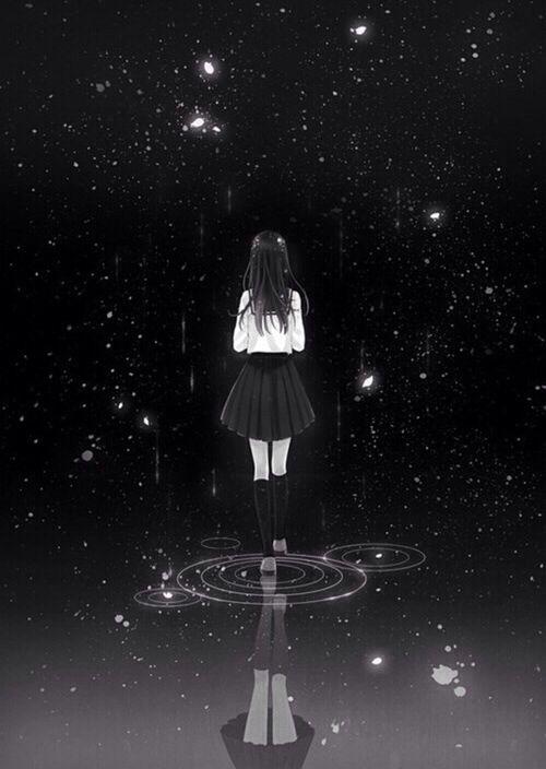 É no escuro que eu paro pra pensar