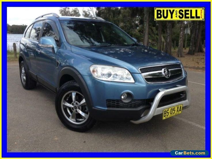 2008 Holden Captiva CG MY08 LX (4x4) Blue Automatic 5sp A Wagon #holden #captiva #forsale #australia