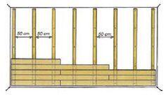 pose horizontale lambris bois