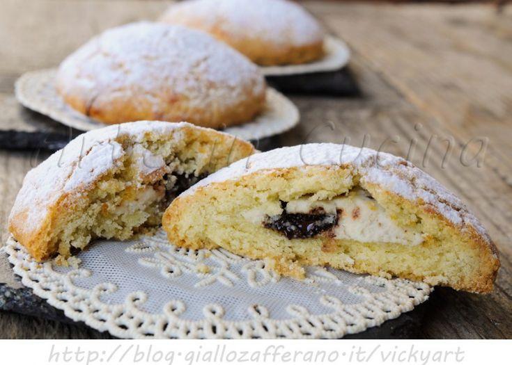 Spagnolette siciliane ripiene alla ricotta, ricetta facile dolci tipici marsalesi, cioccolato, dolce da merenda, colazione, frolle ripiene, dolci facili, ricetta tipica