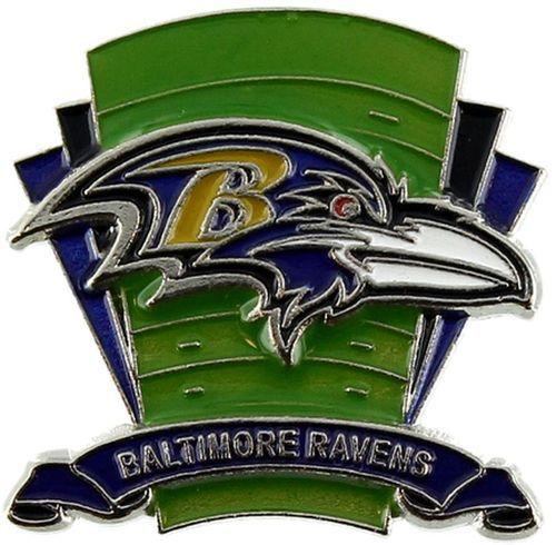 Baltimore Ravens Logo Field Lapel Pin