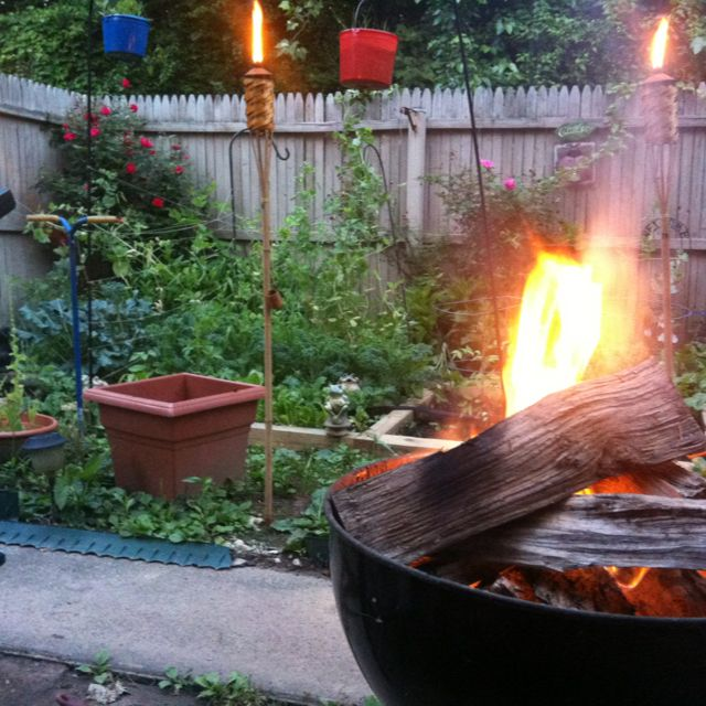 17 best images about bbq history on pinterest patriotic for Easy diy fire pit with grill