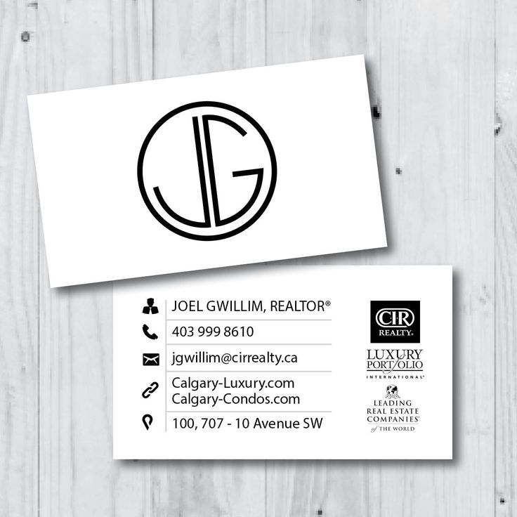 7 best our designs business cards images on pinterest business business card design for calgary realtor real estate design reheart Choice Image