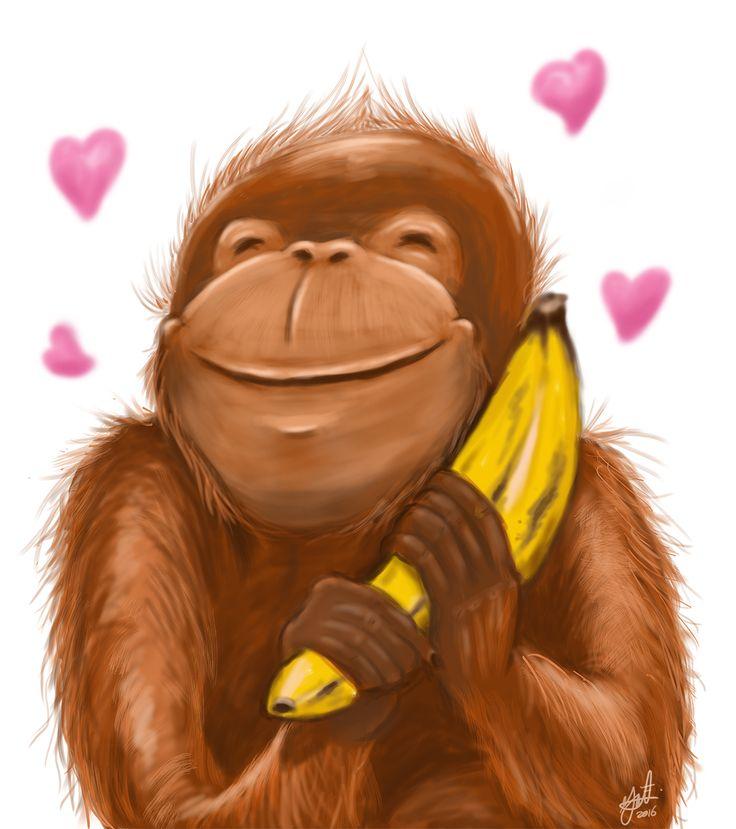give love to orangutan