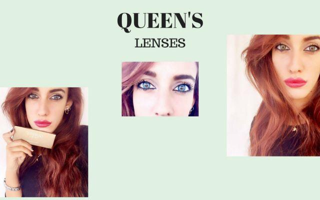 Occhi più luminosi e seducenti con le lenti a contatto colorate di Queen's Il sogno di ogni ragazza almeno per la maggior parte è sempre stato quello di cambiare colore degl fashion style moda trend blogger outfit