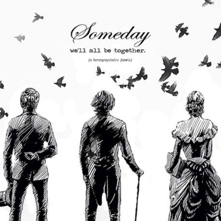 Jem Carstairs, Will Herondale, and Tessa Gray