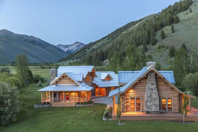 Steve McQueen's former Sun Valley, Idaho ranch. For sale now. #kingofcool #rustic #cabin