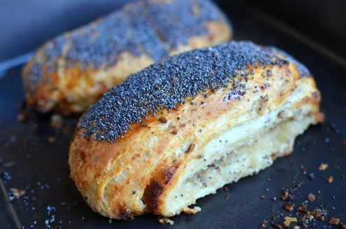 """Nordic Cuisine for the Home Cook - """"Tebirkes"""" Danish Poppy Seed Rolls"""