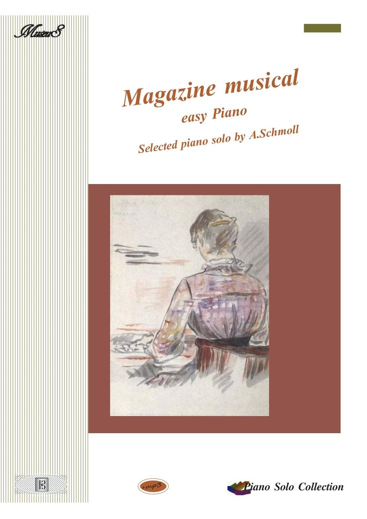 Magazine Musical Selected piano works by Anton Schmoll sheet music with mp3
