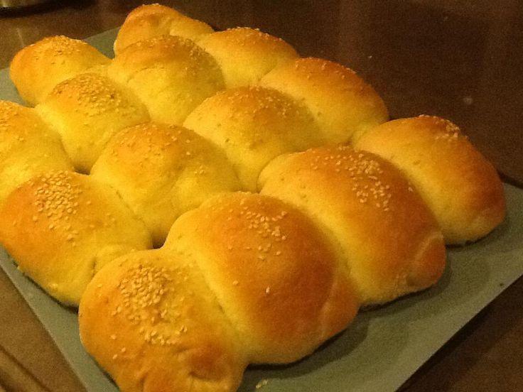 Bev's Blog: Home made rolls