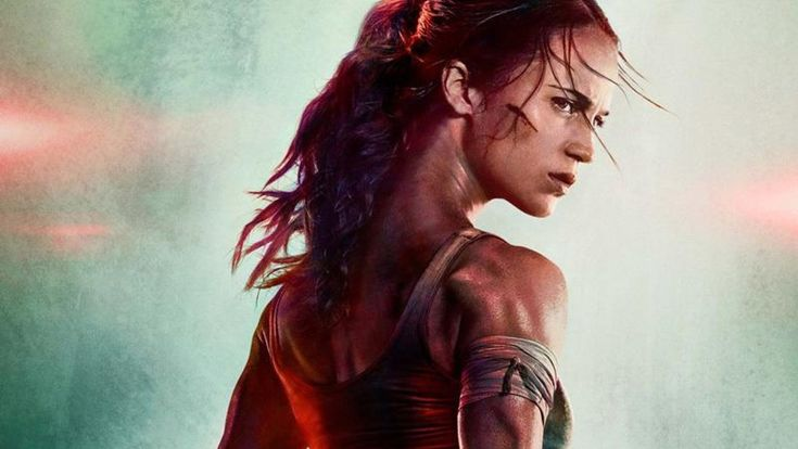 Warner Bros.has unleashed the first poster forTomb Raiderfeaturing Alicia Vikander (The Danish Girl,Ex Machina)as Lara Croft, and she looks totally badass! I love that she is playing this character and I can't wait to see her in full on action. Turns out we won't have to wait long because the f