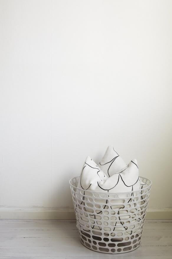 Asplund Code Basket fotograferad för Fantastic Frank Fastighetsmäkleri