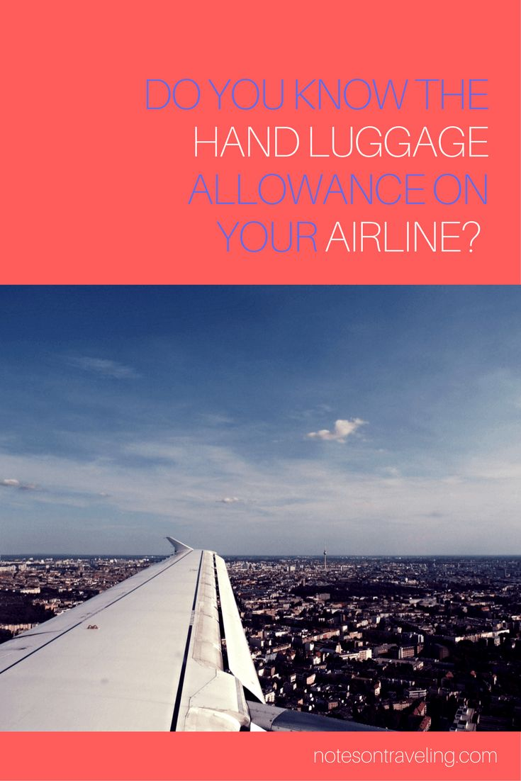 The dream of any frequent traveler is to get by without checking in any luggage. Use this handy hand luggage calculator to make the dream come true!