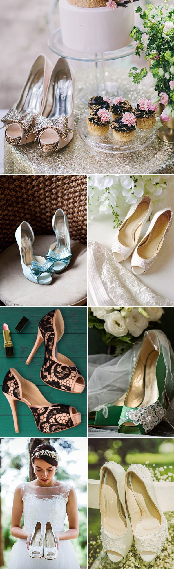 Christy Ng Sequined and Colorful Wedding Shoes