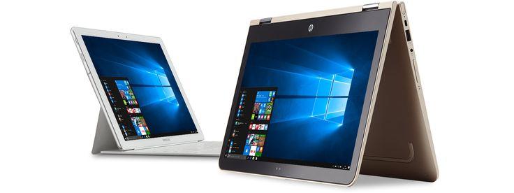 Dispositivos da Microsoft com menu Iniciar do Windows