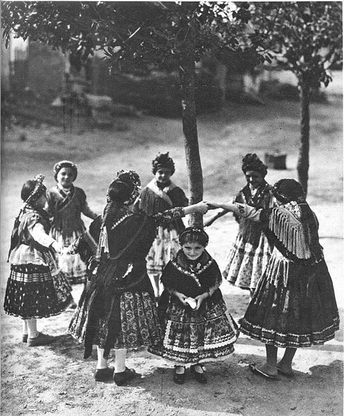 Sárközi kislányok 1930 elött - Pesti Napló