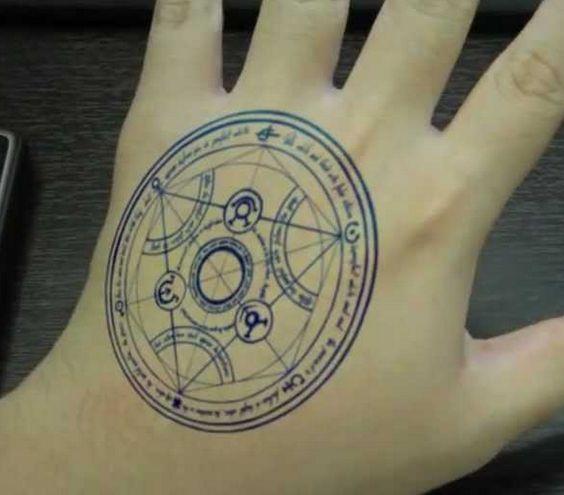 Mental Alchemy Symbol Tattoo