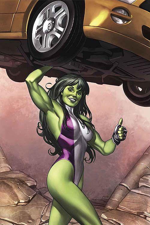 She-Hulk by Juan Bobillo