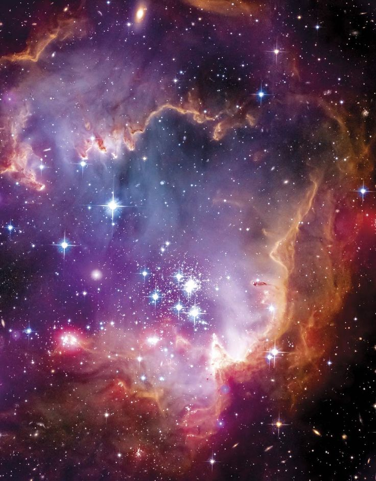 An image of starbirth region NGC 602, Image credit: NASA / ESA / CXC / University of Potsdam / JPL-Caltech / STScI