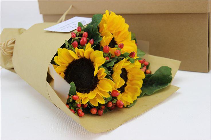 天津同城送花鲜花速递生日小花束毕业礼物向日葵送男朋友包邮-淘宝网全球站