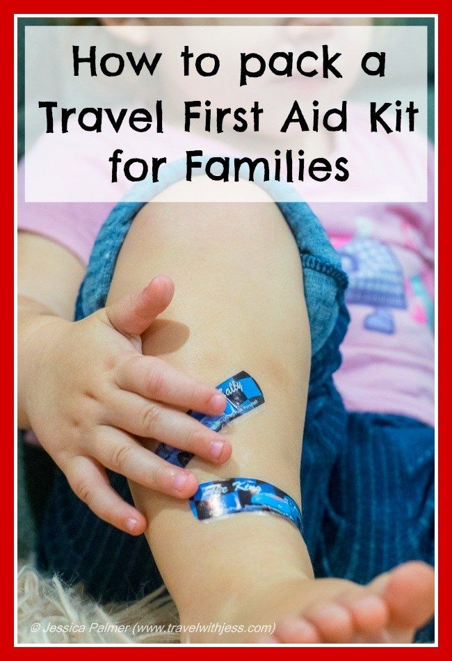 Click the image above for information on how to pack a travel first aid kit for families.  This is how I do it!