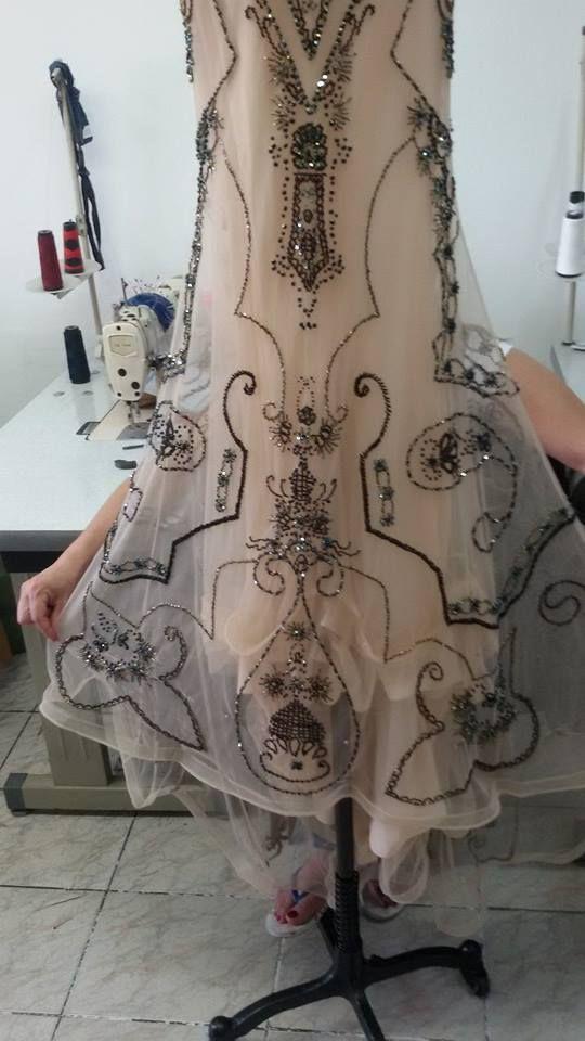 vestido de pedraria para ajustes                                                                                                                                                                                 Mais