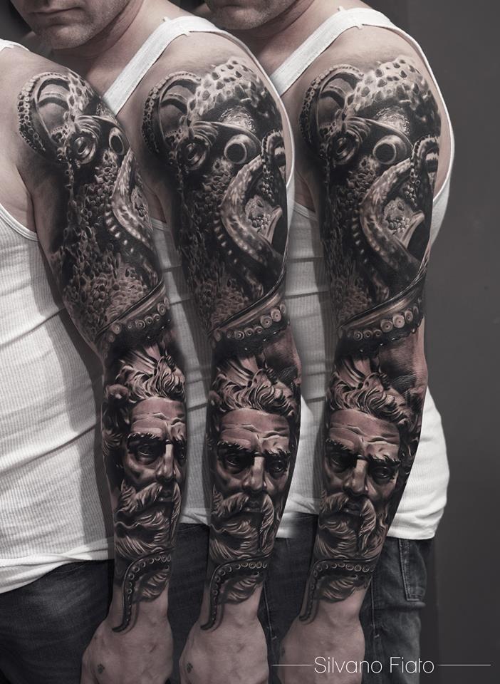 Tatouage réalisé par Silvano Fiato