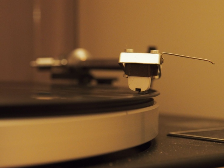 Enjoy the vintage record player.