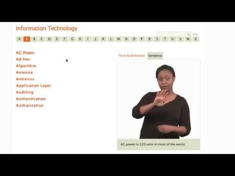 STEM ASL Video Dictionary | DeafTEC